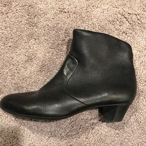 Camper black ankle boots. It's Euro 40.